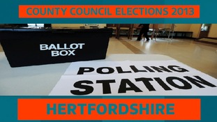 Election 2013: Herts County Council results