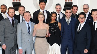The stars of Star Trek Into Darkness