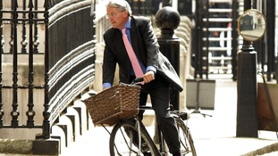 Andrew Mitchell MP arriving at Downing Street