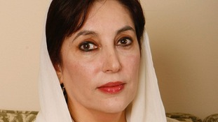 Former Prime Minister of Pakistan Benazir Bhutto