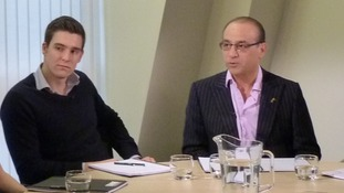 Theo Paphitis close up
