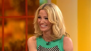 Former Girls Aloud star Sarah Harding speaking about her plans post-Girls Aloud on Daybreak this morning