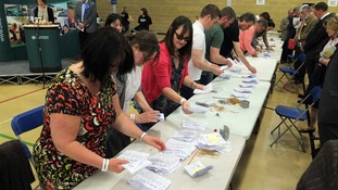 Counting gets underway after the Oxford County Council elections