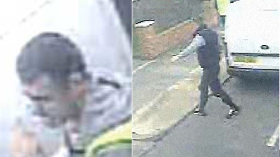 Aggravated burglary in South Tyneside CCTV