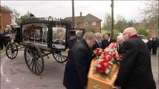 Traditional Romany funeral