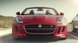 The new Jaguar F-Type.