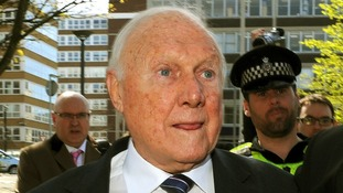 Disgraced broadcaster Stuart Hall.