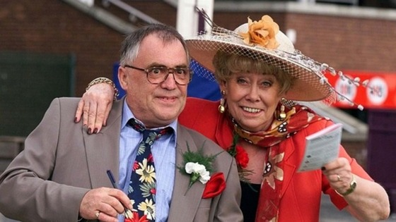 Liz Dawn with late actor Bill Tarmey