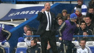 Benitez has struggled to win over the fans since arrival but guided them to the Europa League final