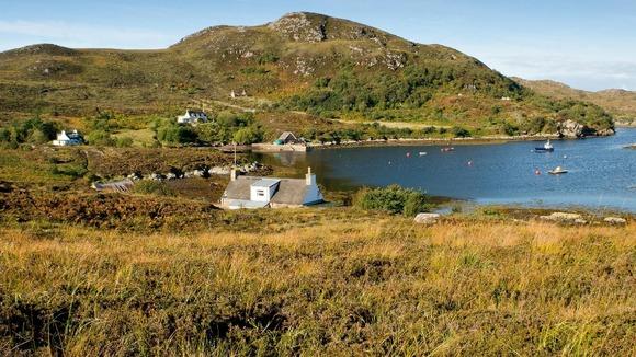 39 amazing 39 scottish island on sale for itv news. Black Bedroom Furniture Sets. Home Design Ideas