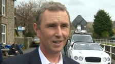 Conservative MP Nigel Evans earlier today.