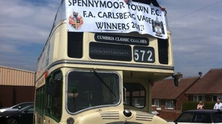 Spennymoor set for victory bus parade