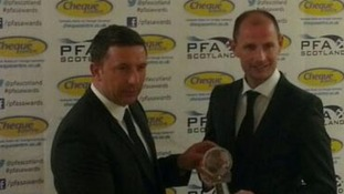 Johnston wins Scottish manager of the year