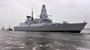 New Type 45 destroyer, HMS Dragon