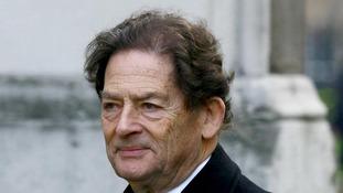 Baron Nigel Lawson was Thatcher's Chancellor.
