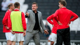 Karl Robinson was, when appointed at MK Dons, the youngest manager in the Football League