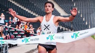 Run in the sun at the Milton Keynes Marathon