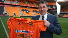 Dean Saunders has been sacked as Wolves manager