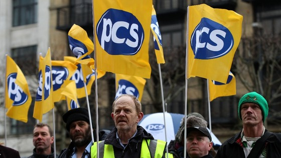 Members of the Public and Commercial Services union (PCS) will take part in the strikes