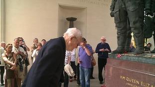 World War Two hero fulfils memorial ambition