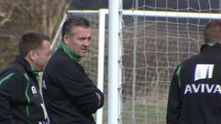 Paul Lambert looks pensive