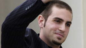 Wade Robson outside court after helping Jackson be acquitted of child sex abuse charges in 2005