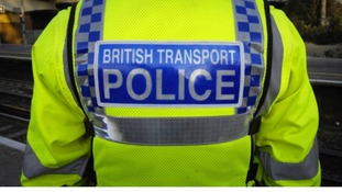 BTP Officer, back of uniform