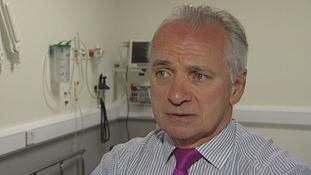 A&E Consultant Dr Steve McCabe.
