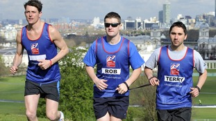 Blinded soldier to do London Marathon