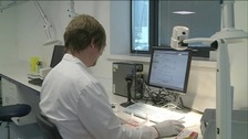 Bowel Screening Wales laboratory