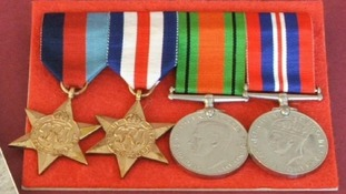 Second World War campaign medals