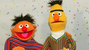 Sesame Street muppets Ernie and Bert