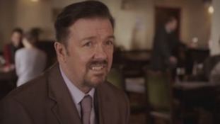 Gervais to bring back Brent for YouTube guitar lessons