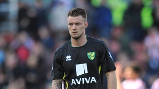 Norwich City midfielder Anthony Pilkington