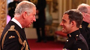 Corporal Sean Jones of The Princess of Wales's Royal Regiment was awarded a Military Cross.