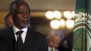UN-Arab League envoy Kofi Annan.