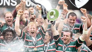 Leicester Tigers win their second Premiership Final
