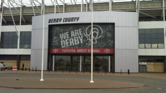 Derby County fans will be able to do a charity zip wire at Pride Park