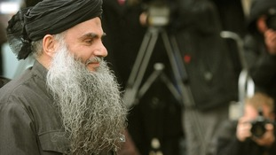 File photo of radical cleric Abu Qatada.
