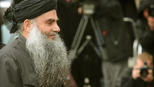 File photo of radical cleric Abu Qatada.