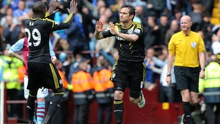 Frank Lampard is now the highest scoring player in Chelsea's history