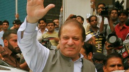 Nawaz Sharif has won a third term in office as Pakistan's Prime Minister