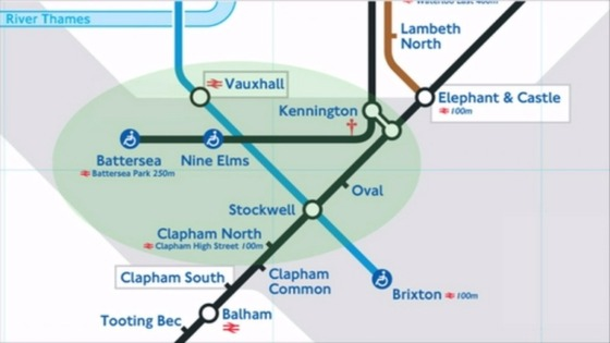 Potential look of new tube map