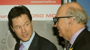 Gove suggested Nick Clegg could face a leadership challenge from Vince Cable