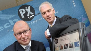 Richard Dorf and Adrian Howlett from PXtech