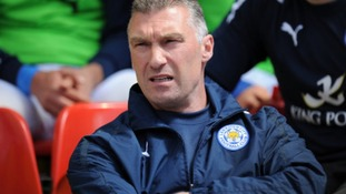 Leicester City manager Nigel Pearson before the