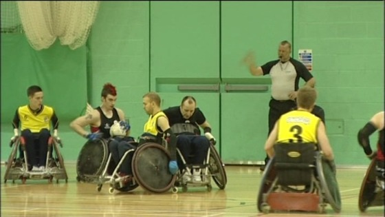 Wheelchair Rugby's Super Series Crown