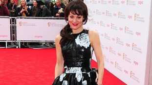 Helen McCrory arriving for the 2013 Arqiva British Academy Television Awards