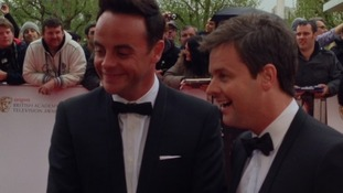Ant and Dec speak to ITV News