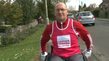 Andy Gardiner , wheelchair athlete